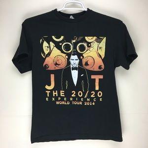 Justin Timberlake 2014 concert tour t-shirt tee M